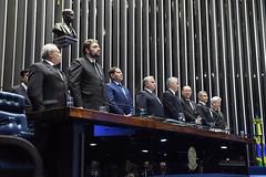 Plenário do Congresso (Senado Federal) Tags: plenário sessãosolene diadomaçombrasileiro comemoração reginaldogusmãodealbuquerque cassianoteixeirademoraes hamiltonmourão senadorizalcipsdbdf deputadogeneralgirãopslrn múciobonifácioguimarães ademirlúcioamorim armandoassumpção hinonacional hinodamaçonaria brasília df brasil
