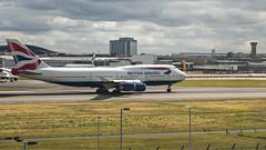BA 747 (Ningaloo.) Tags: lhr heathrow airport renaissance hotel planespotting ba british airways 747 jumbo one world