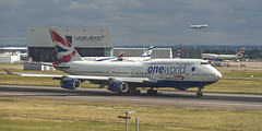 BA 747 One World (Ningaloo.) Tags: lhr heathrow airport renaissance hotel planespotting ba british airways 747 jumbo one world