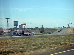 Road trip 8/23/2019  v16 (THE RANGE PRODUCTIONS) Tags: nm newmexico nmtrue southwestus freeway interstate road broke down 18wheeler semi bigrig tractortrailer truck cab i25