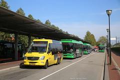 Dordt niet helemaal elektrisch (Maurits van den Toorn) Tags: bus autobus minibus stadsbus qbuzz dordrecht station busstation mercedes utrecht