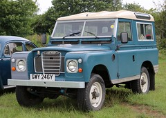 GWY 246Y (1) (Nivek.Old.Gold) Tags: 1983 land rover 88 series 3 station wagon 2286cc jamesedwards chester