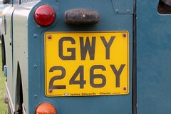 GWY 246Y (2) (Nivek.Old.Gold) Tags: 1983 land rover 88 series 3 station wagon 2286cc jamesedwards chester