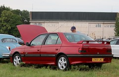 L956 LWC (Nivek.Old.Gold) Tags: 1994 peugeot 405 le mans 1998cc