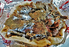 Gyros on a pita (Will S.) Tags: gyros pita sandwich beef lamb tomato onion tzatzikisauce mypics hellenic meeting reception centre greekfest ottawagreekfest greek festival food music ottawa ontario canada