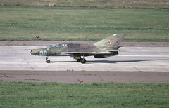 MiG-21UM Russian Air Force (Rob Schleiffert) Tags: mig mig21 fishbed russianairforce zhukovsky