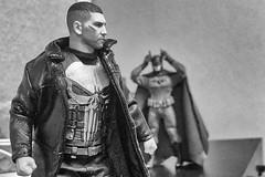 The Punisher and the Ascending Knight (misterperturbed) Tags: mezco mezcoone12collective ascendingknight batman dccomics marvel disney netflix punisher jonbernthal