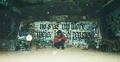EDGY (PeachySick11) Tags: street underground graffity corner creepy syniester isolated dark edgy town crazy chaos lofi rincon esquina ciudad sitio somewhere anywhere tunnel tunel hole agujero underbridge flash guy boy drugs