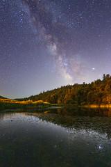 Milky Way Over A Pond In Palomar Mountain State Park (slworking2) Tags: palomarmountain california unitedstatesofamerica pond night sky stars galaxy milkyway longexposure sandiego
