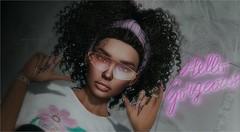 What Am I (tarja.haven) Tags: logobentohead logo nomatch formanails hair curlyhair meshhair nails bentonails uber hairfair photography photo pixelart portrait tarjahaven event avatar sl secondlife digitalart fashion virtual