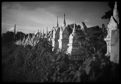 temple sunset (the other Matt Jones) Tags: kodak 2468 blackandwhite film canon10qd xtolstock developer