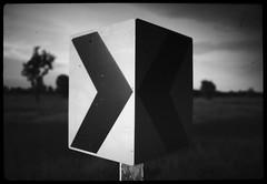 street sign (the other Matt Jones) Tags: kodak 2468 blackandwhite film canon10qd xtolstock developer