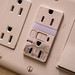 Black Burns Around Electric Outlet