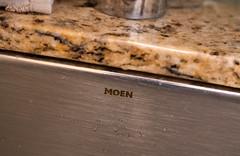Moen Kitchen Sink (Tony Webster) Tags: moen countertop faucet kitchen kitchensink marble sink stainlesssteel undermount