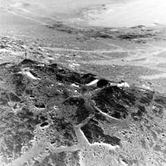 Tracks of Curiosity, variant (sjrankin) Tags: 24august2019 edited nasa mars msl curiosity galecrater rocks sand dust grayscale nlb619780919edrf0763002ncam00284m sanddrifts tracks wheeltracks