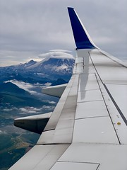 There are plane window views, and then there are plane window views! Hi, Mount Rainier! #deltaairlines #mountrainier #washingtonstate #mountrainiernationalpark #mountains #planewindowview #planewindow #flightslctosea #iphone (thor_mark ) Tags: flightslctosea deltaairlines mountrainier washingtonstate mountrainiernationalpark mountains planewindowview planewindow iphone
