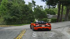 Mega car (sumosloths) Tags: koenigsegg agera xs rs chris singh orange carbon fiber