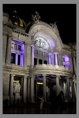 Palacio de Bellas Artes (Acxel Fuentes) Tags: building palace bellasartes cdmx mexico palacio night noche street