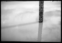 dam level guage ii - Rodinal stand 1hr (the other Matt Jones) Tags: rodinal stand 2468 kodak film canon10qd 35mmf14 blackandwhite