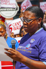 Rema Coleman Dietary Worker Mt. Sinal Hospital Fight for 15 Rally Chicago Illinois 8-22-19_2307 (www.cemillerphotography.com) Tags: poverty minimumwage costofliving money inequality workers labor fastfood corporations profits surplusvalue