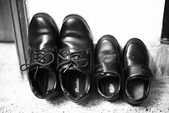 School Shoes (N A Y E E M) Tags: shoes uniform school basma umar kalam latenight availablelight indoors corridor home rabiarahmanlane chittagong bangladesh sooc raw unedited untouched
