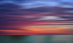 Calma total (ricardocarmonafdez) Tags: seascape cielo sky nubes clouds color sea mar movement imagination processing horizonte horizon