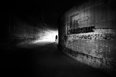 Downtowngallery Krefeld ll (Hendrik Lohmann) Tags: streetphotography street strase strassenfotografie menschen monochrome minimalism museum urban urbanart urbanlife urbanphotography underground people krefeld nikonz6 wideangle nikoneurope architecture blackandwhite bnw bwstreet bw