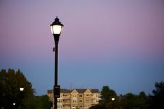 Evening Lamp Post (imageClear) Tags: light lamp lightpost lamppost evening streetphotography beauty lowlight aperture nikon d600 105mm imageclear flickr photostream