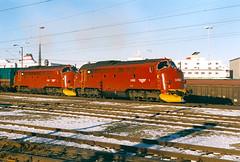 NSB Di 3 632 + 623 (Stig Baumeyer) Tags: nsb norgesstatsbaner nsbdi3 di3 nohab nohabgm nydqvistholm emd electromotive generalmotors gm gm16567 trondheim trollhättan diesellocomotive diesel diesellokomotiv diesellok diesellokomotive
