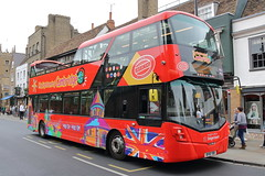 13809 BV18 YBB (ANDY'S UK TRANSPORT PAGE) Tags: cambridge buses citysightseeing sightseeing stagecoacheast cambus