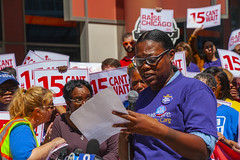Rema Coleman Dietary Worker Mt. Sinal Hospital Fight for 15 Rally Chicago Illinois 8-22-19_2308 (www.cemillerphotography.com) Tags: poverty minimumwage costofliving money inequality workers labor fastfood corporations profits surplusvalue