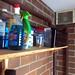 A storage shelf...