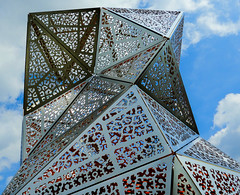Origami (Hans Veuger) Tags: nederland thenetherlands amsterdam spaarndammerbuurt spaarndammerdijk spaarndammertunnel ventilatietorens emissiepunten vents art kunst architecture architectuur tjep nikon b700 coolpix nederlandvandaag unlimitedphotos twop