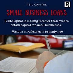 Small Business Loans by REIL Capital (reilcap) Tags: loans funds capital startuploan badcredit finance wealth reilcap startup money cash
