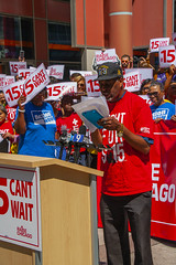 Tyree Johnson McDonald's Worker Fight for 15 Rally Chicago Illinois 8-22-19_2306 (www.cemillerphotography.com) Tags: poverty minimumwage costofliving money inequality workers labor fastfood corporations profits surplusvalue