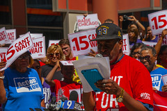 Tyree Johnson McDonald's Worker Fight for 15 Rally Chicago Illinois 8-22-19_2304 (www.cemillerphotography.com) Tags: poverty minimumwage costofliving money inequality workers labor fastfood corporations profits surplusvalue