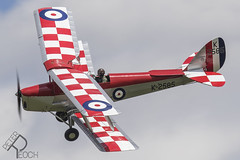 G-ANKT / Shuttleworth Collection / de Havilland Tiger Moth (Peter Reoch) Tags: old warden oldwarden shuttleworth shuttleworthcollection military airshow 2019 classic vintage air show aviation display aircraft gankt collection de havilland dh82a tiger moth