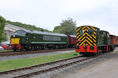 D8 + D2205 + D2139 (ANDY'S UK TRANSPORT PAGE) Tags: trains rowsley peakrail