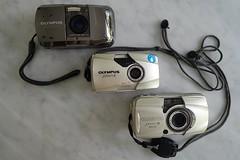 Olympus mju-1 limited, mju-II and mju-III wide 100. (bxdcnpgb31) Tags: film 35mm stylus mjuii stylusepic filmphotography mju2 olympusmju olympusmjuii 35mmcamera analoguephotography mju1 mjuiii mju3 olympusmjuiiiwide100 olympusmju1limited filmcamera