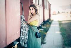 Evagelia (Vagelis Pikoulas) Tags: portrait canon 6d sigma art 85mm f14 train old girl girls woman women beautiful beauty bokeh day summer august 2019 photography photoshoot greece nafplio