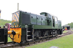 D9525 (ANDY'S UK TRANSPORT PAGE) Tags: trains rowsley peakrail
