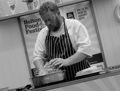 Chef Robert Owen Brown at Bolton Food Festival 2019 (Tony Worrall) Tags: robertowenbrown chef cook demo stage annual event make cooking man boltonfoodfestival foodfestival welovethenorth nw northwest north update place location uk england visit area attraction open stream tour country item greatbritain britain english british gb capture buy stock sell sale outside outdoors caught photo shoot shot picture captured ilobsterit instragram
