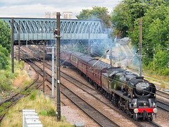 35018 1Z27 Holgate Jnc 22-08-19 (Robin Patrick's Trains) Tags: merchant navy bullied pacific 35018 british india line the scarborough spa express york holgate jnc