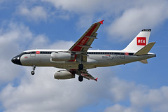 'BA319A' (BA0319) CDG-LHR (A380spotter) Tags: approach landing arrival finals shortfinals threshold airbus a319 100 geupj airbusa319100poweredbyiaev2500engines beabritisheuropeanairways redsquare19591968 britishairways10019192019 centenary retrocolours livery scheme retrojet 2019 ba100 baretrojet internationalconsolidatedairlinesgroupsa iag britishairways baw ba ba319a ba0319 cdglhr runway27l 27l london heathrow egll