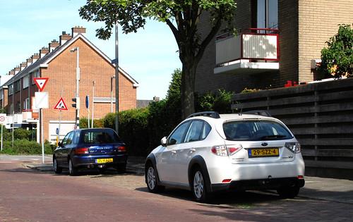 2012 Subaru Impreza XV & 1999 Subaru Impreza Plus