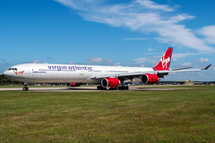 G-VYOU | Airbus A340-642 | Virgin Atlantic Airways (JRC | Aviation Photography) Tags: gvyou airbusa340642 virginatlanticairways virginatlantic airbus airbusa340 airbusa340600 boh eghh bournemouthairport