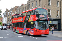 13808 BV18 YBA (ANDY'S UK TRANSPORT PAGE) Tags: cambridge buses citysightseeing sightseeing stagecoacheast cambus