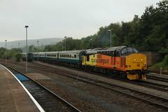 37421 - Rhymney (_Southern Adventurer) Tags: colas 37421 rhymneyvalley rhymney valleylines transportforwales southwales class37