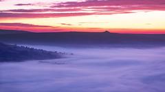 Hope Valley (scon4061) Tags: derbyshire hopevalley winnatspass cloudinversion sunrise mist fog castleton uk greatbritain fujifilmxh1 fujifilm1655f28 landscape