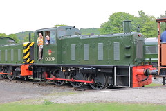 D2139 (ANDY'S UK TRANSPORT PAGE) Tags: trains rowsley peakrail